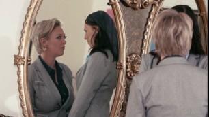 Lesbian Massage Aidra Fox Dee Williams Role Models Dress For Success Girlsway