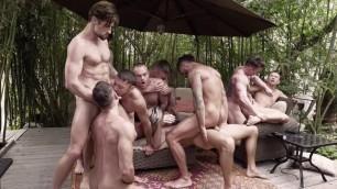 [Lucas Entertainment] Fire Island Sex Party: Scene 3_11-Man Fire Island Bareback Orgy (Part 2)