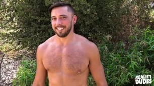 Cherry Pop Hairy Muscle Man Shane