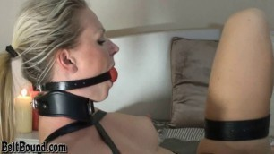 Ingrid - Bed Bound in Leather Armbinder