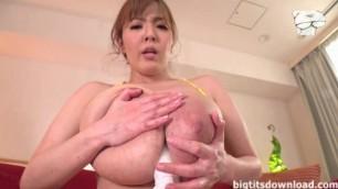 Massive monster asian tits