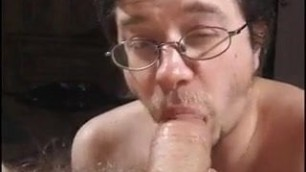 Thick cock sucking