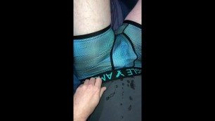 Cody evans play with his dick in undies