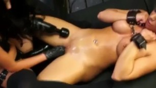 Gorgeous Alexa Pierce Fucked By Big Strapon Mistress Esmi Lee